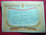 Diploma UCFS -Campion RPR Inot la 400m liber ,Junior I -1961, CCA (Steaua)