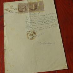 Acte / documente vechi - Certificat anul 1947 Judetul Mehedinti !!! - Pasaport/Document