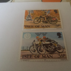 Anglia/man 1973 motociclete/serie MNH - Timbre straine, Nestampilat