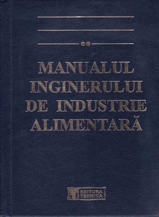 manualul inginerului de industrie alimentara