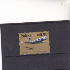 Timbre st.poloneze AVIATIA