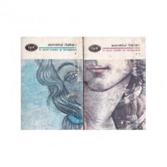 Sonetul italian în Evul mediu si renastere (2 vol.)