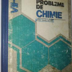Probleme de chimie - clasele VII - VIII - Cornelia Gheorghiu -1982