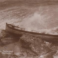 TECHIRGHIOL, MOVILA - TECHIRGHIOL NAUFRAGIU EDIT. NIC.D.CUSI CONSTANTA - Carte Postala Dobrogea dupa 1918, Necirculata, Fotografie