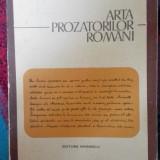 Tudor vianu arta prozatorilor romani (editura eminescu)