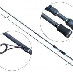 Lanseta fibra de carbon Baracuda Sooty 210 Pentru Salau Biban Stiuca, Lansete Spinning