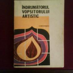 V. Constantinescu Indrumatorul vopsitorului artistic - Carte amenajari interioare