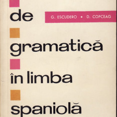 G. Escudero - Exercitii de gramatica in limba spaniola - 34042 - Curs management