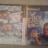 WWE Smack Down - Just bring it - PS2   ( GameLand )