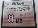 COMPACT FLASH 8MB /compact flash nikon 8 mb NIKON EC-8CF