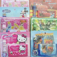 Set ceas + portofel pentru copii - Ceas copii, Electronic, 6-10 ani