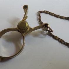 Vechi si Rar Lant pentru Ceas de buzunar Vintage executat manual de Colectie