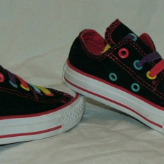 Tenisi copii CONVERSE ALL STAR - nr 27, Culoare: Din imagine, Fete