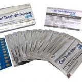 Benzi Albire Dinti - 0% Peroxid - Cool Whitening - 14 plicuri - 100% natural