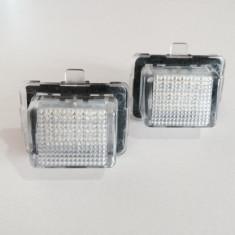 Lampa / Lampi LED numar Mercedes-Benz C-Class W204 4 / 5 usi set 2 buc - Led auto G-View