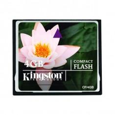 Card de memorie Kingston Compact Flash 4GB - Secure digital (SD) card