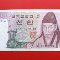 COREEA DE SUD - 1.000 Won ND ( 1983 ) - bancnota asia