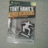 Manual - Tony Hawk's Underground - XBOX  ( GameLand )