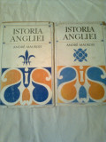 ISTORIA ANGLIEI  ~ ANDRE MAUROIS ( vol.1 + 2 -complet )