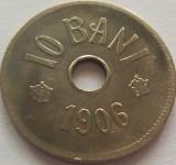 Lot / Set 5 Monede de 10  Bani - ROMANIA, anul 1906   *cod 301