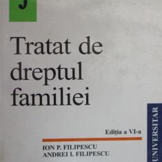 Tratat de dreptul familiei, Ion P. Filipescu Andrei Filipescu, Allbeck 2001 - Carte Dreptul familiei