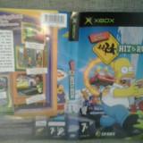 Coperta - The Simpson's Hit and run - XBOX ( GameLand )