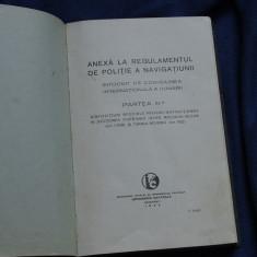 Regulamet de traversare Portile de fier si Cataractele / partea III 1938 /150pag