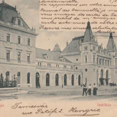 TIMISOARA, GARA, CLASICA, CIRCULATA FEB.''01 - Carte Postala Banat pana la 1904, Printata