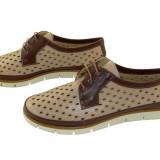 Pantofi dama piele naturala Allegro-130 f - Pantof dama, Culoare: Bej, Marime: 36, 37, 38, 39, 40