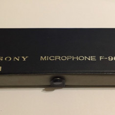 Microfon vintage Sony F-96 made in Japan (111) - Microfon PC Sony, Analog