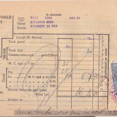 Bnk fil Timbrul aviatiei 2 lei + 3 lei fiscal pe chitanta