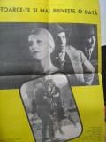 Afis film - Intoarce-te si mai priveste o data (68x47),  Casa de filme Unu