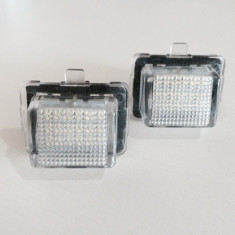 Lampa / Lampi LED numar Mercedes-Benz S-Class W221 set 2 bucati - Led auto G-View