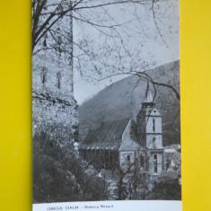 HOPCT 4053 ORASUL STALIN/BRASOV -BISERICA NEAGRA -JUD BRASOV -RPR -NECIRCULATA - Carte Postala Transilvania dupa 1918, Printata