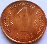 Moneda 1 LEU - ROMANIA, anul 1993  *cod 1117 = A.UNC