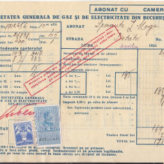 Bnk fil Timbre fiscale pe factura 1934