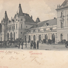 TIMISOARA, GARA, CIRCULATA MAR. ''902 - Carte Postala Banat pana la 1904, Printata