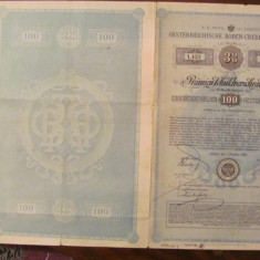 CY - Titlu de proprietate / Actiuni / Imprumut Austria 1880, Europa