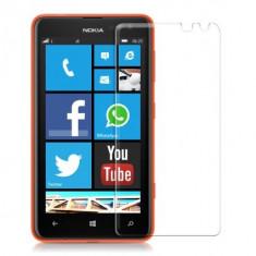 Geam Nokia Lumia 625 Tempered Glass - Folie de protectie Nokia, Lucioasa
