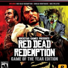 Red Dead Redemption Goty Edition Ps3 - Jocuri PS3 Rockstar Games, Shooting, 18+