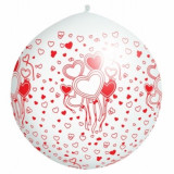 Balon Jumbo cu balonase si petale - Decoratiuni nunta