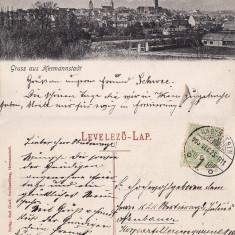 Sibiu, Hermannstadt- Vedere generala, Circulata, Printata
