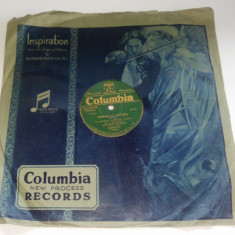 Disc vinil/ vinyl patefon/ gramofon Schwabishe hochzeit - Columbia