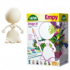 Set Lena De Colorat Figurina Model Fetita - Jocuri arta si creatie