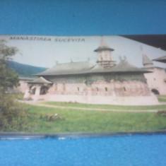 MAPA DIAPOZITIVE MANASTIREA SUCEVITA DIACOLOR 1969