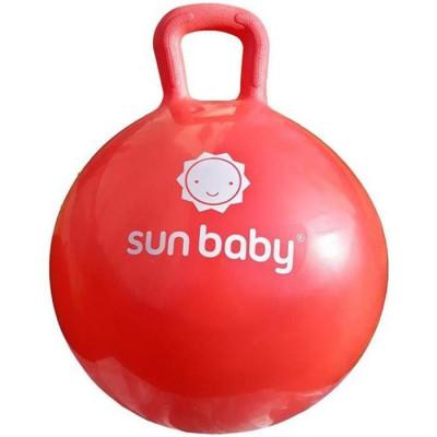 Minge Gonflabila Pentru Sarituri Cu Maner Sun Baby Rosu foto