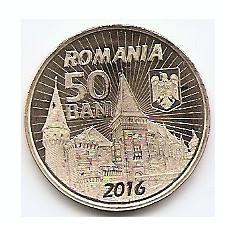 Romania 50 bani 2016 - Iancu de Hunedoara, KM-New UNC !!! - Moneda Romania