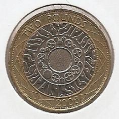 Marea Britanie 2 Pounds 2006 - Technology, K70, 28.4 mm, KM-994, Europa