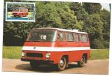 No(2)ilustrata maxima-AUTOVEHICULE ROMANESTI-TV-prima zi, Romania de la 1950, Transporturi