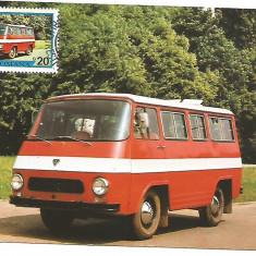 No(2)ilustrata maxima-AUTOVEHICULE ROMANESTI-TV-prima zi, Romania de la 1950, An: 1978, Transporturi